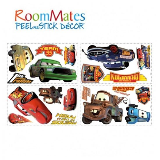 Cars Muurstickers Kinderkamer.Cars Muurstickers