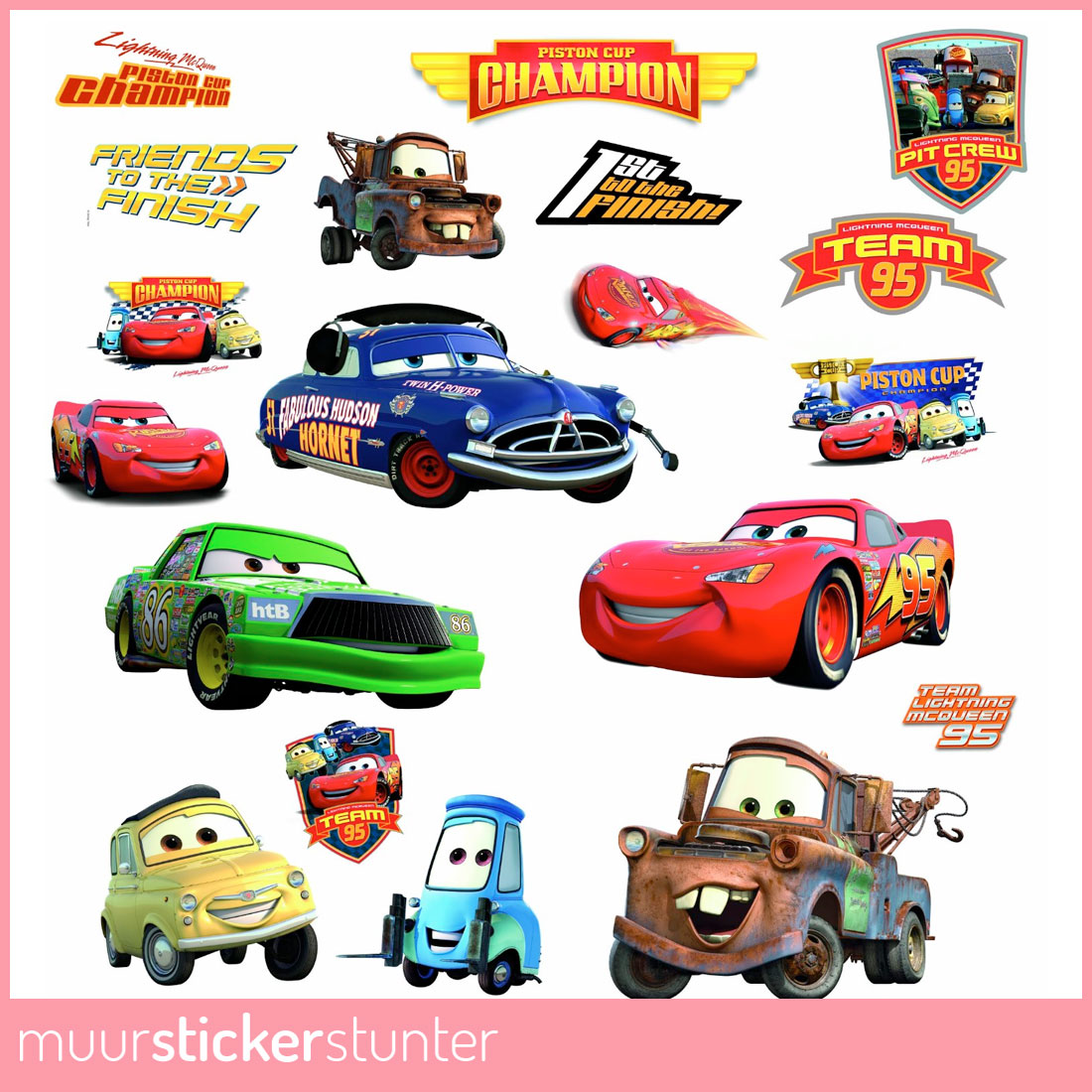 Cars muurstickers - Cars wandsticker ...