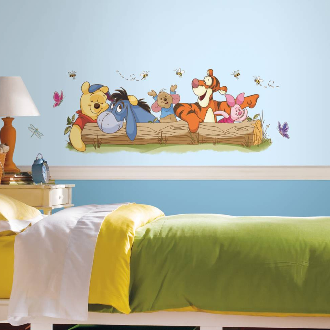 winnie de pooh muursticker groot bekijk alle muurstickers. Black Bedroom Furniture Sets. Home Design Ideas