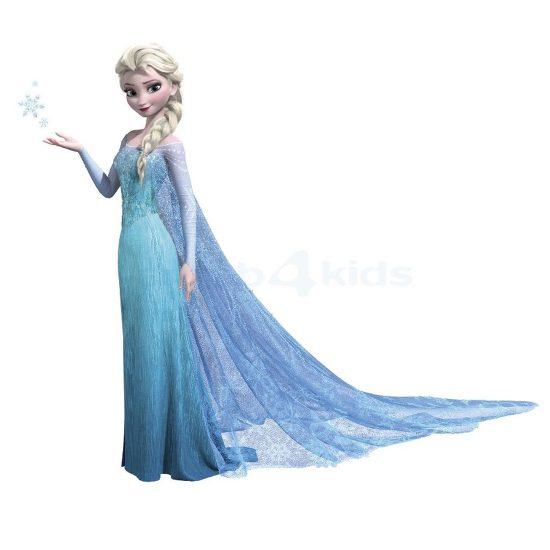Koningin-Elsa-Muursticker