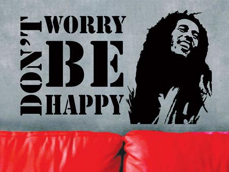 bob marley don't worry be happy