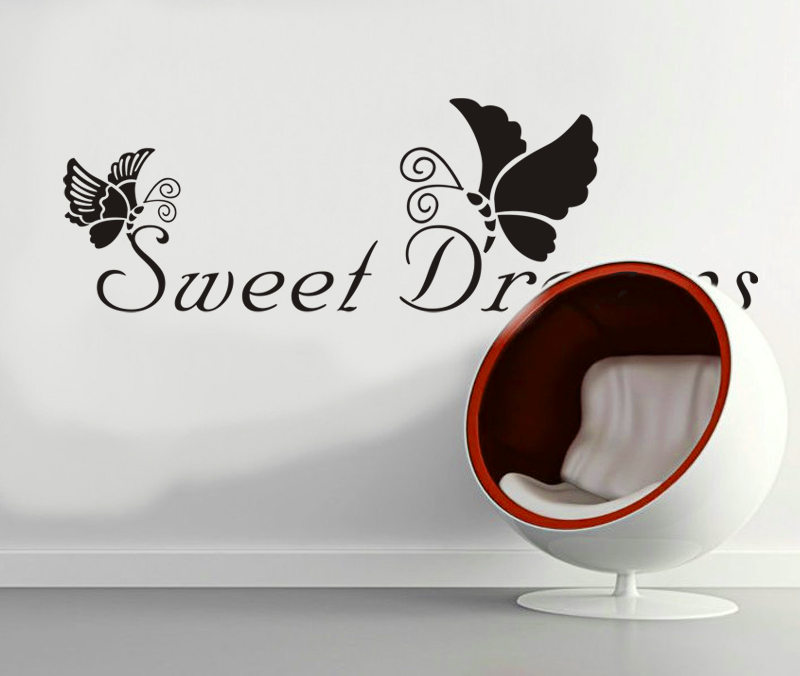 Home u00bb Muursticker teksten u00bb Sweet Dreams Muursticker