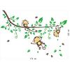 Muursticker-aapjes-in-een-boom-muursticker-afmetingen