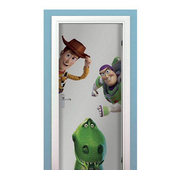Toy Story sticker muur deur kast kinderkamer