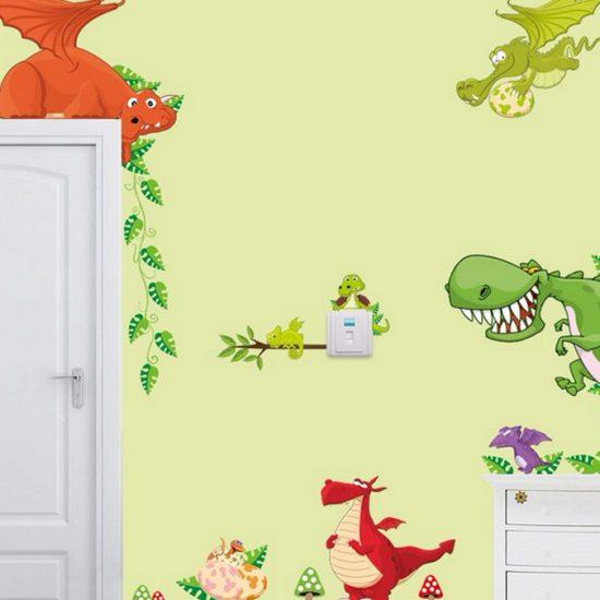 dinosaurus-muurstickers