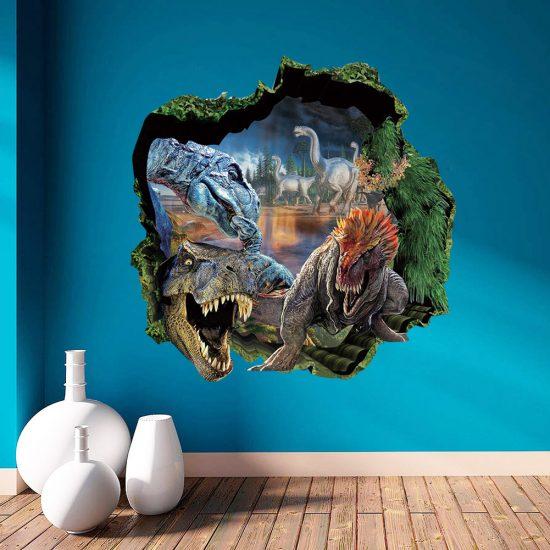 dinosaurus muurstickers voor op de wand interieur sticker dinosaurussen