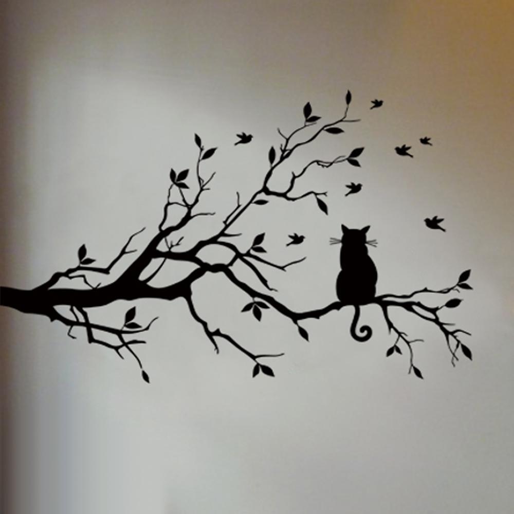 kat-in-de-boom-muursticker-voor-slaapkamer-woonkamer-interieursticker-wandsticker-voor-muur-decoratie