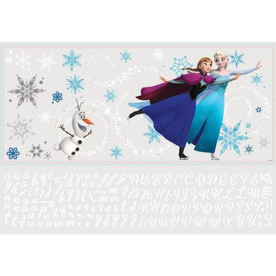 Anna-Elsa-Olaf-muursticker