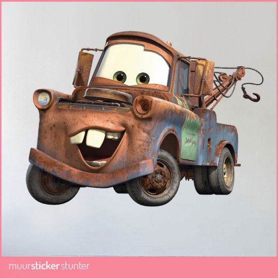 Cars Muurstickers Kinderkamer.Cars Muurstickers Van Takel