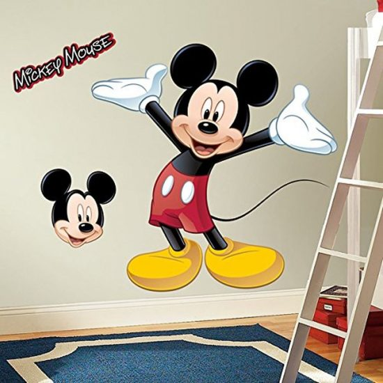 mickey mouse muursticker