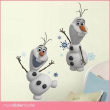 Olaf de sneeuwpop Disney muursticker