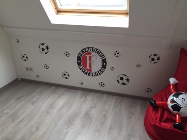 voetbalkamer ideeen stoer kinderkamer slaapkamer feyenoord