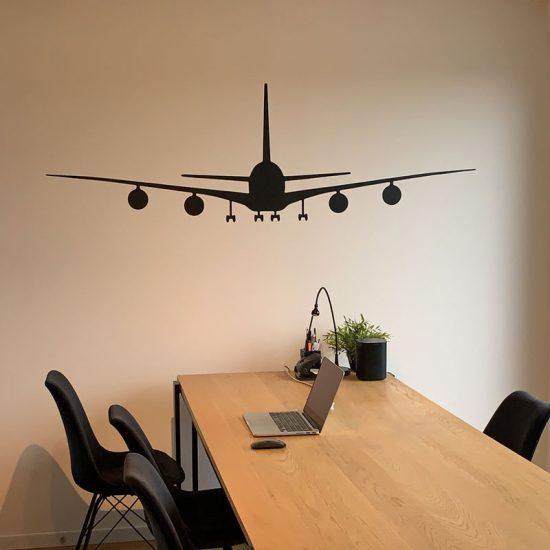 muursticker-vliegtuig-woonkamer-kinderkamer-kantoor-stickers