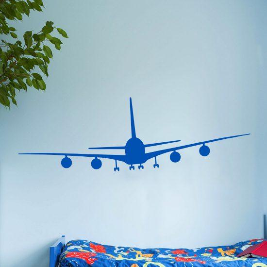 vliegtuig-muursticker-boeing-747-klm-stikkers-kinderkamer