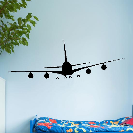 vlieguig-747-boeing-muursticker