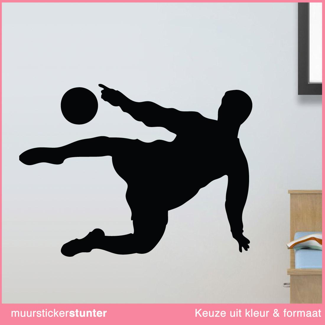 Leuke ideeën voor een stoere voetbalkamer   muurstickerstunter ...