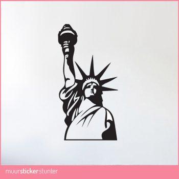 vrijheidsbeeld-muursticker-new-york-standbeeld