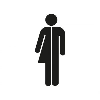 wc-sticker-man-vrouw-gender-neutraal