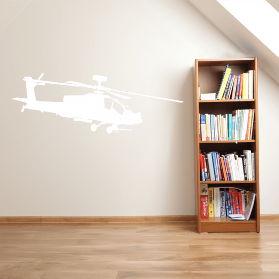 apache-helicopter-muursticker