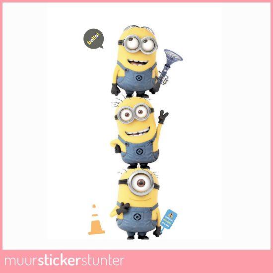 Minions-muursticker