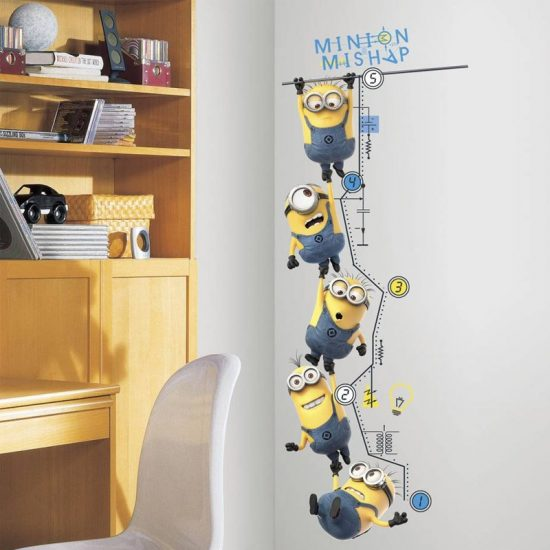 muursticker minions despicable me 2 disney kinderkamer stickers goedkoop ideeen inspiratie