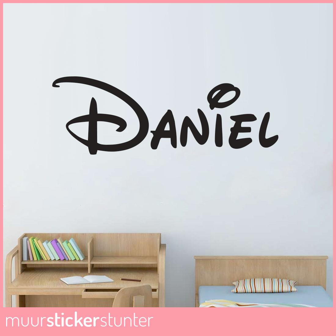 Stickers Kinderkamer Disney.Leuke Naamstickers Voor De Kinderkamer Bekijk Dit Inspirerende