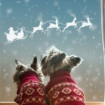 Uitzonderlijk Muursticker Kerst & Raamdecoratie Kerst naar wens - v.a. 14,95! MR94
