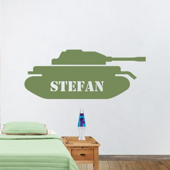 muursticker-tank-naam-tekst-eigen-goedkoop