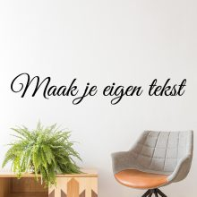 muursticker eigen tekst muurtekst goedkoop zwart maken naamsticker slaapkamer trap woonkamer keuken spreuken babykamer kinderkamer