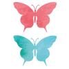 vlinders muurstickers set goedkoop blauw rood butterfly sticker
