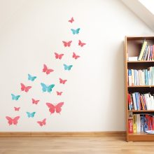 vlinders-muurstickers-set-acryl-verf-vrolijk