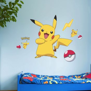 pokemon-muursticker-met-naam-kinderkamer-goedkoop-ash-pikachu-pokebal-stikker-stickers