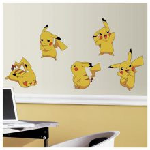 Pikachu set muurstickers pokemon