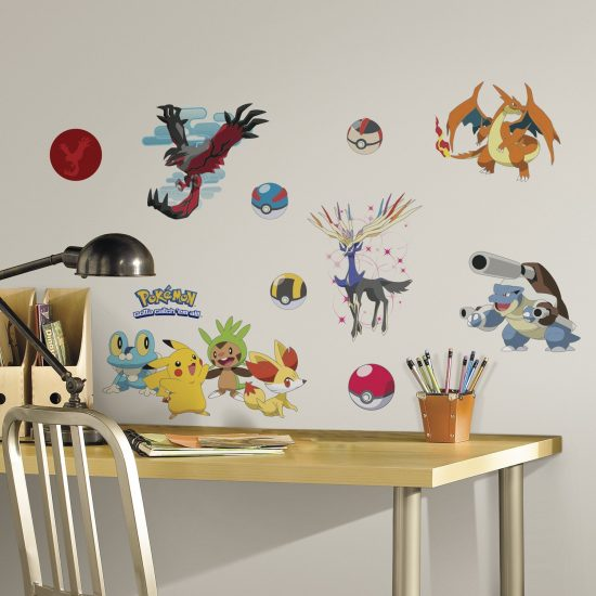 pokemon set muurstickers