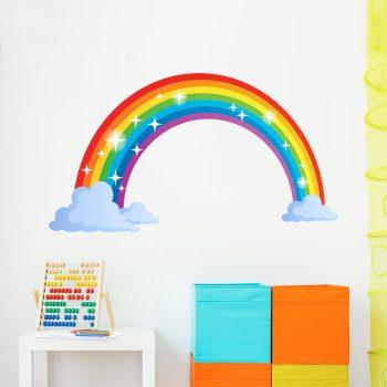 regenboog-muursticker-kinderkamer