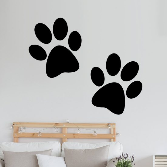 hondenpootjes-stickers-muurstickers-auto-raamstickers