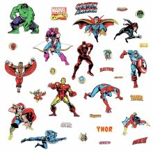Muursticker Marvel