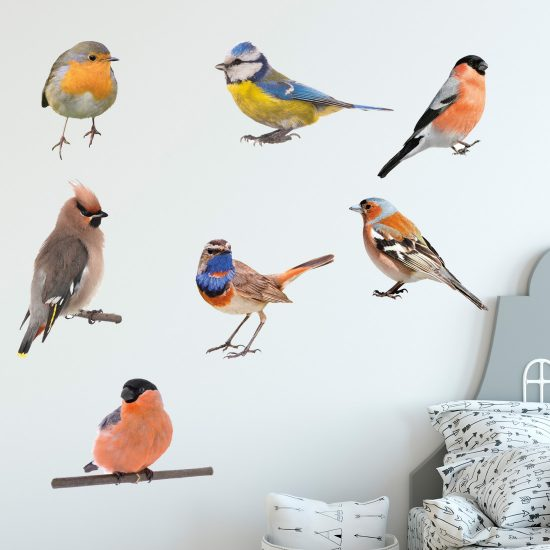 muurstickers-vogels-mus-tropisch-muursticker