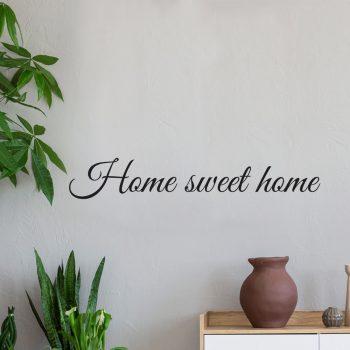 Muursticker Home Sweet Home.Woonkamer Muurstickers En Teksten Vanaf 9 95 Met Gratis Verzending