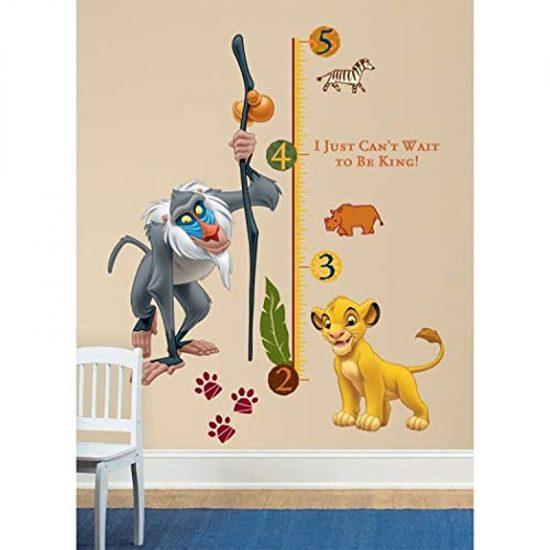 Disney-Lion-King-Leeuwenkoning-Groeimeter-Muursticker-Simba
