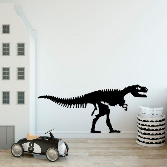 muursticker-dinosaurus-skelet