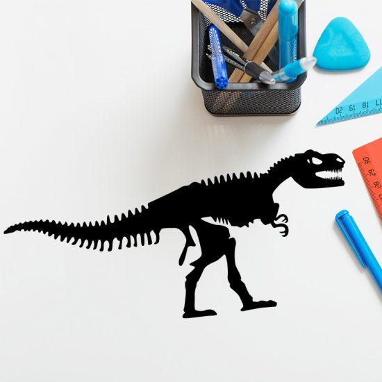 muursticker-dinosaurus-skelet-tafel