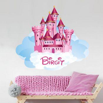 muursticker-kasteel-prinses-paleis