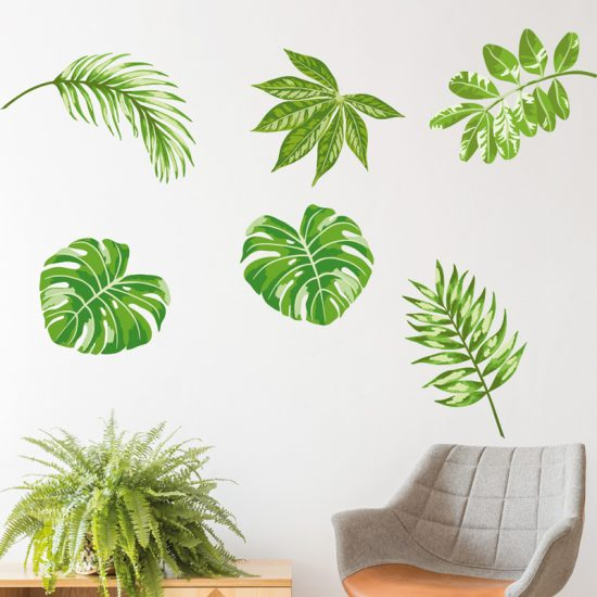 muursticker-bladeren-palm-urban-jungle-ideeen-leuk