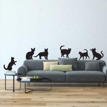 muursticker-katten-poesen-deursticker-woonkamer-diy-ideen-leuk