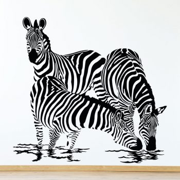 muursticker-zebras-woonkamer-kinderkamer-zwart-wit-diy-ideeen-leuk