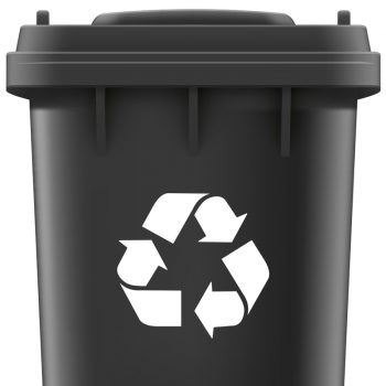 recycle-sticker-container-gft-glas-plastic-groen-mileau
