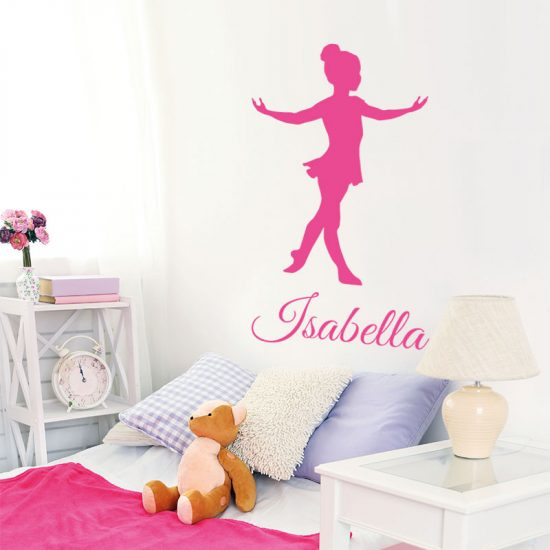 muursticker-ballet-ballerina-roze-kinderkamer-meisjeskamer