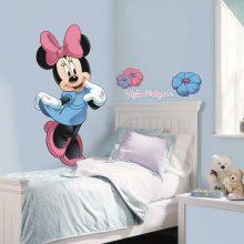 muursticker disney kamer meisjeskamer minnie mouse roze
