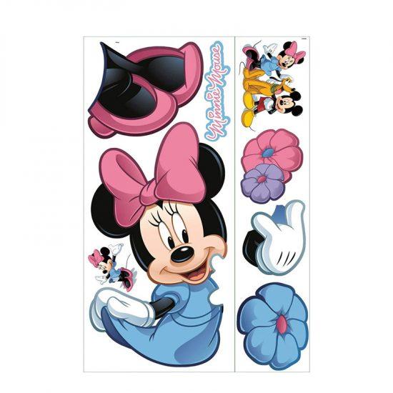 muursticker disney minnie mouse kinderkamer meisjeskamer ideeen inspiratie